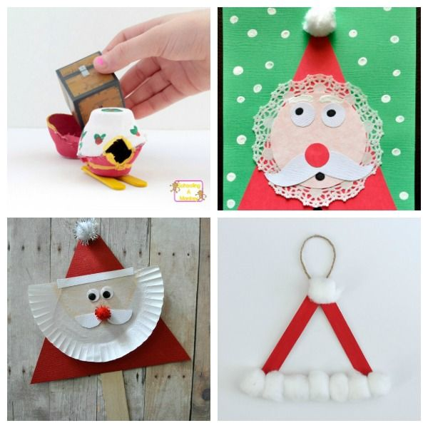 dont miss these santa claus crafts for kids of all ages santa crafts - Santa Claus Preschool Crafts