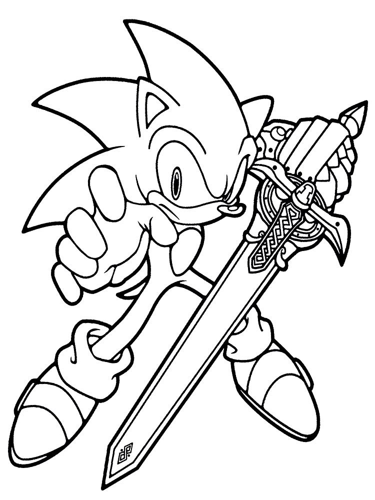 Sonic Raskraski S Zhivotnymi Raskraski