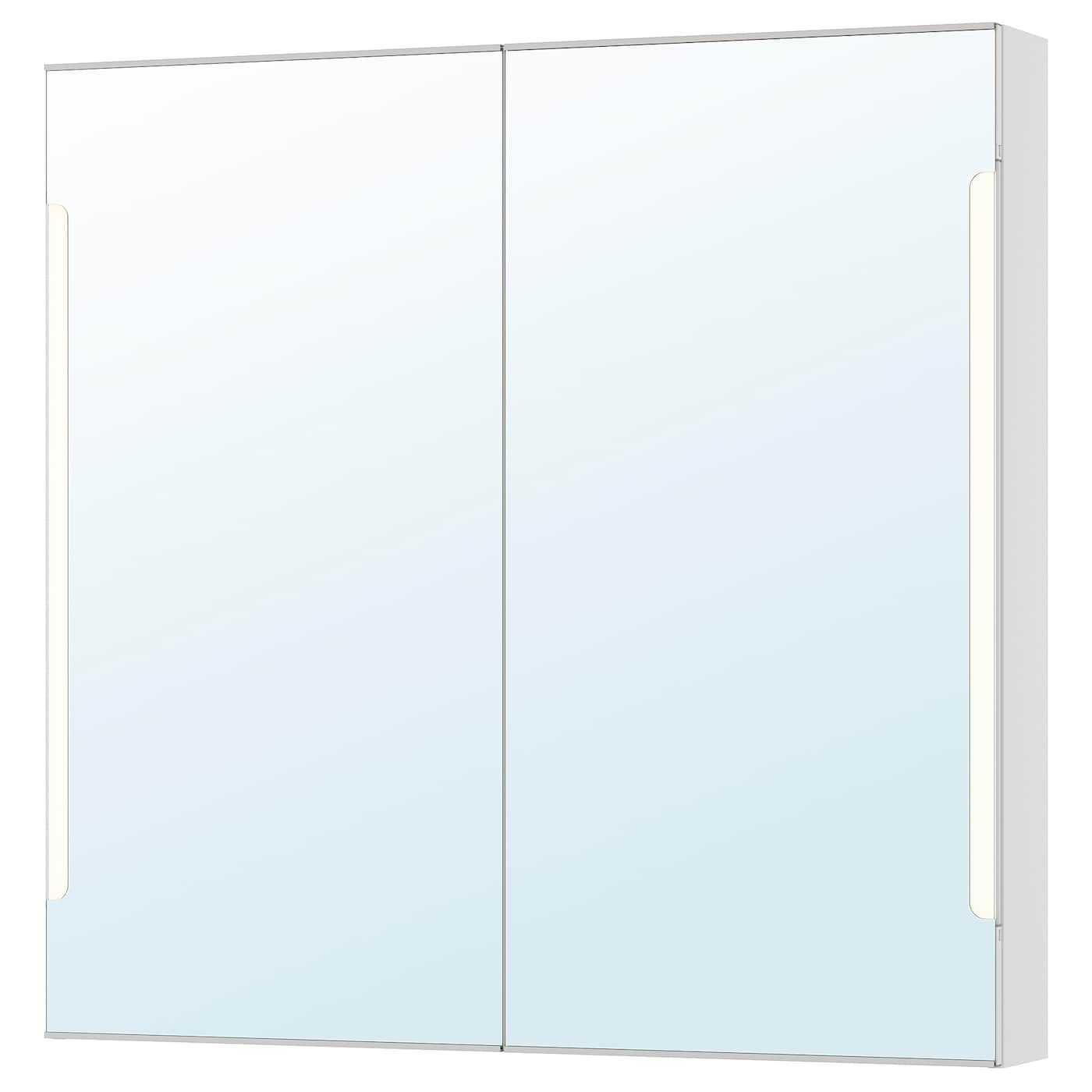 Storjorm Spiegelschrank M 2 Turen Int Bel Weiss Ikea Deutschland Mit Bildern Spiegelschrank