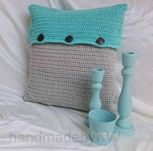 Das Kissen Wird Ich Aus Dem Milano Eco Barbante Textilgarn Von