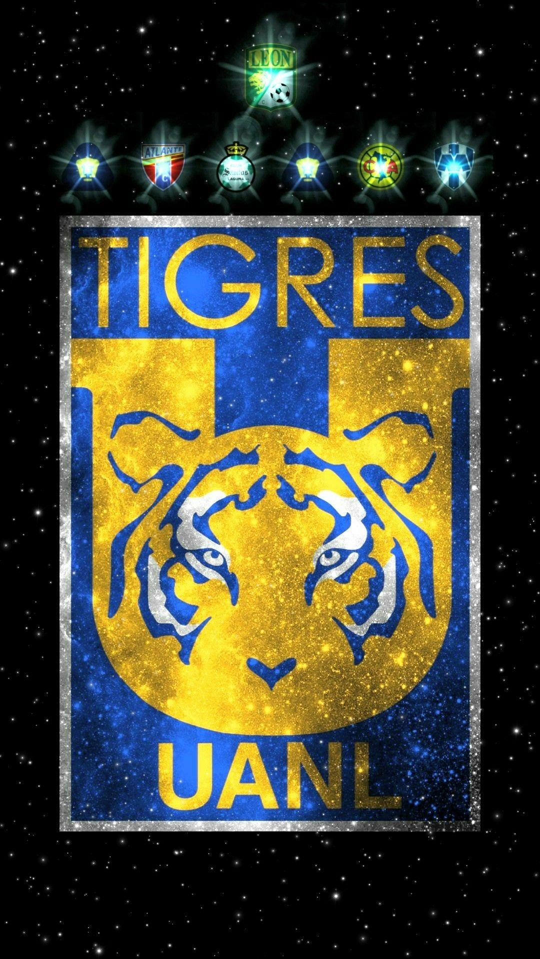 Escudo Tigres 7 Estrellas ( Fondo de Pantalla ) Imagenes