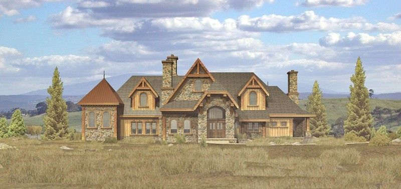 Custom French Country Home Plans House Design Ideas