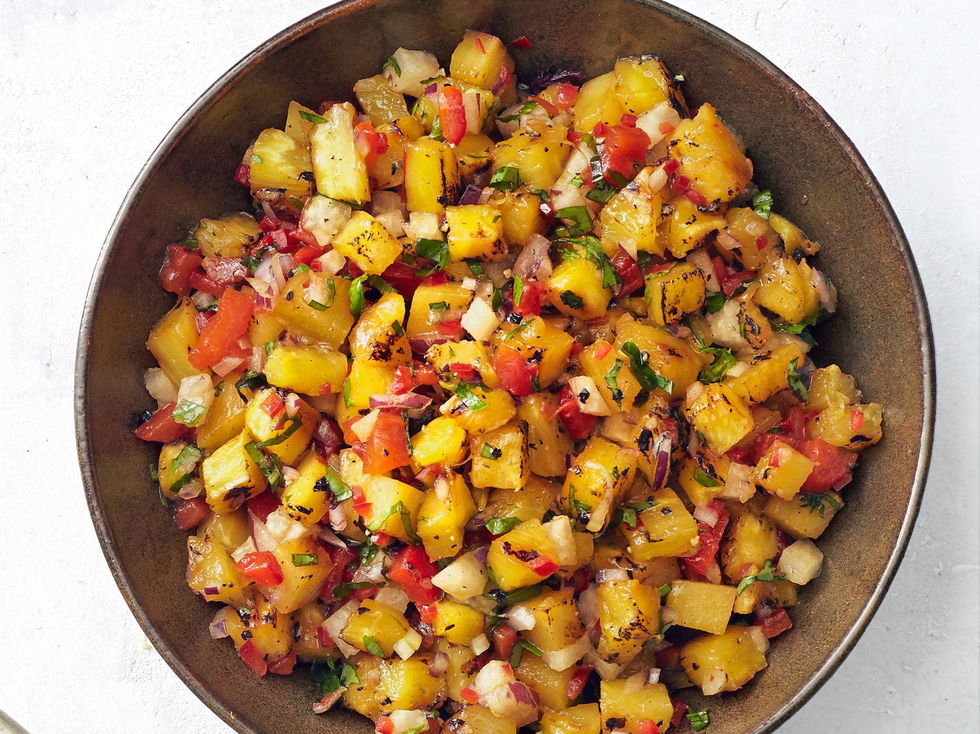 Grilled Pineapple-Jicama Salsa | Recipe | Salsa, Grilling ...
