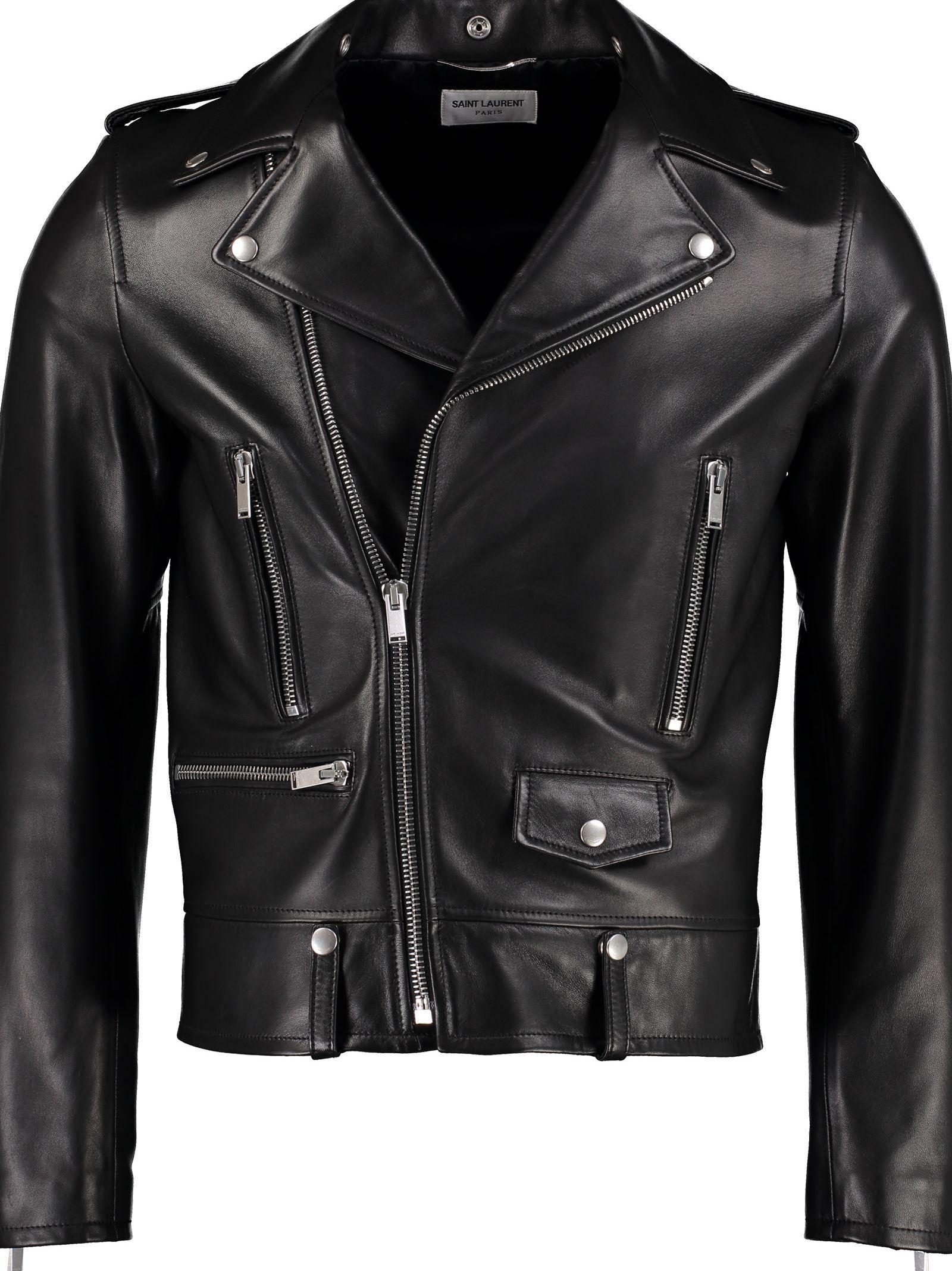 Saint Laurent Leather Biker Jacket Saintlaurent Cloth Biker Jacket Jackets Leather Biker Jacket [ 2136 x 1600 Pixel ]