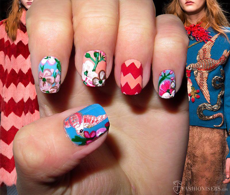 Fall 2015 Runway Inspired Nail Art Designs | Nail art designs, Art ...