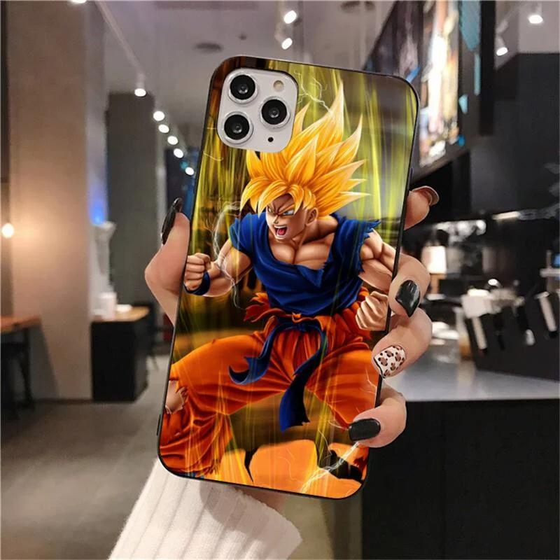 Dragon Ball Z Animated Goku Iphone 12 Mini Pro Pro Max Cover Saiyan Stuff In 2020 Dragon Ball Z Dragon Ball Dragon