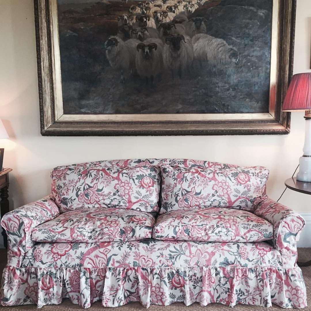 Soane Britain On Instagram Old Howard Sofa With A New Loose Cover In Botanic Garden Printed Lin Howard Sofa Living Room Sofa Design Dining Room Chairs Modern