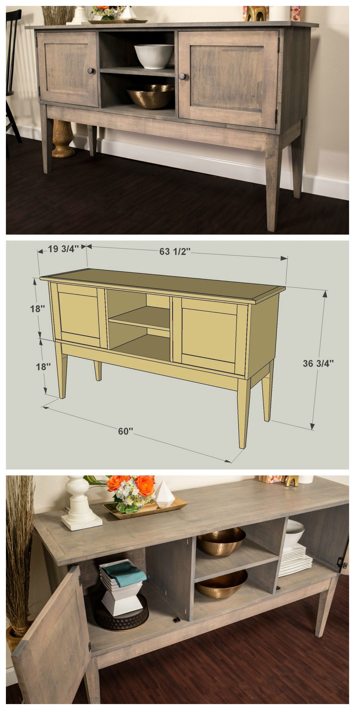 How to build a classic sideboard to maximize your storage and style