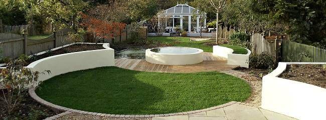 Curved Lawn & Gardens | Garden Inspiration | Pinterest | Gardens