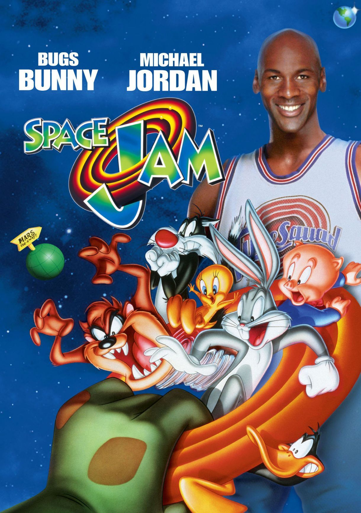 Pin by 90s Baby 00s Kid on 90s Movies | Space jam, Vhs movie