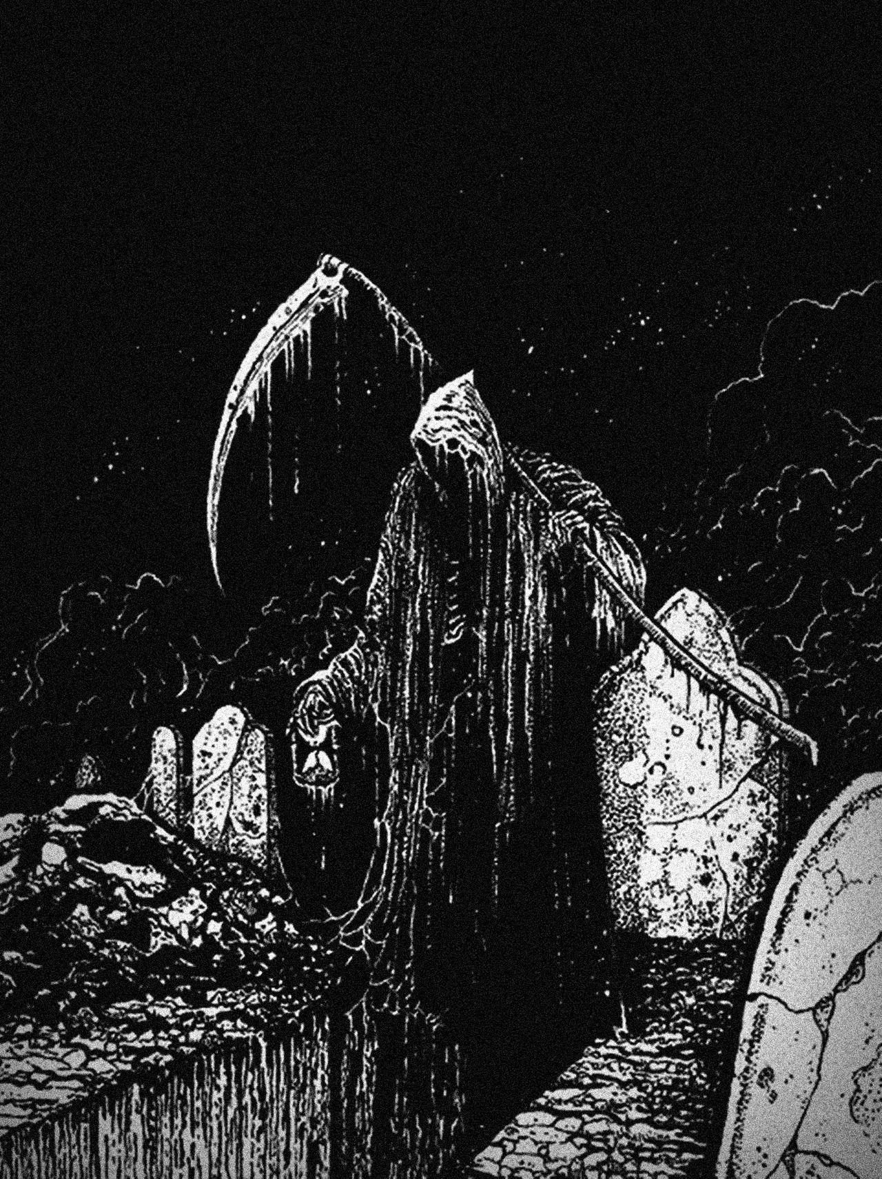 A winter shadow... | Horror art, Dark art, Creepy art