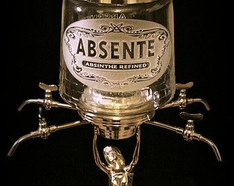 Absinthe Fountain-Custom Engraved by The Blasting Cabinet on ETSY ...