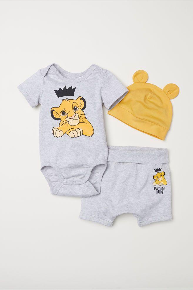 valore eccezionale numerosi in varietà nuova selezione Set 3 pezzi in jersey   Vestiti per neonato, Moda per ...