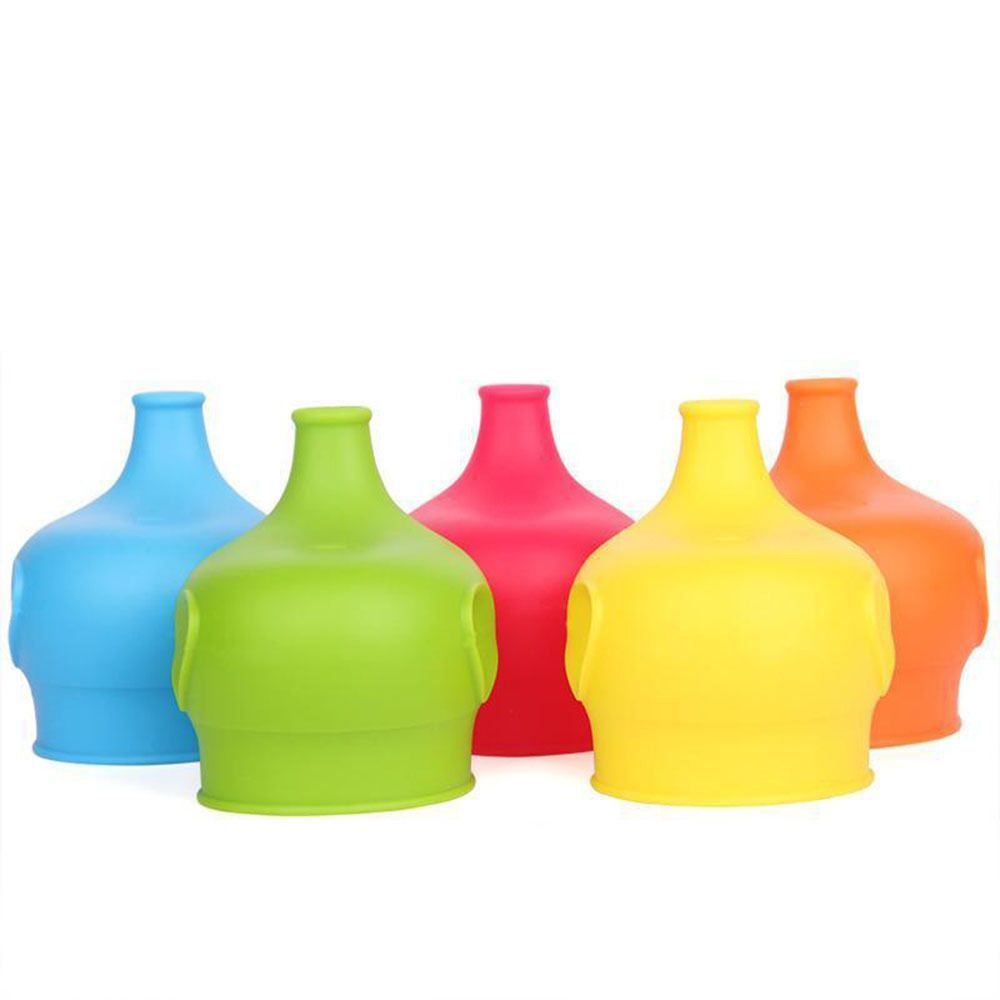 Hot Sale Reusable Toddlers Babies Kids BPA-Free Silicone Sippy Lids For Any Cup