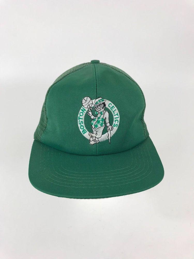 4dcf0f645 authentic vintage boston celtics hat 580a3 2657c