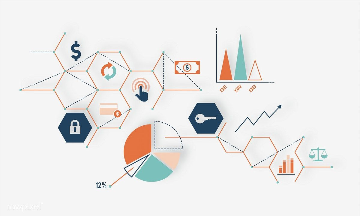 Illustration Of Data Analysis Graph With Images Vector Free