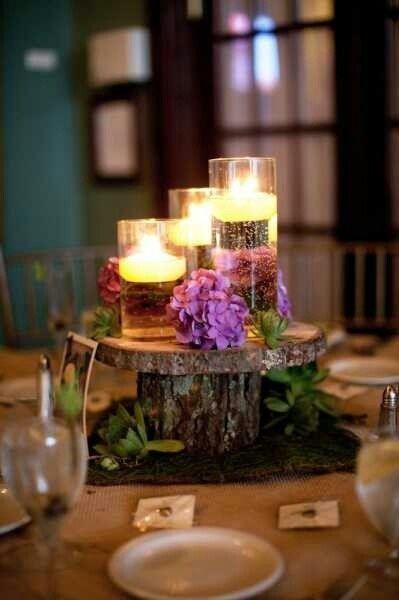enchanted forest centerpiece ideas