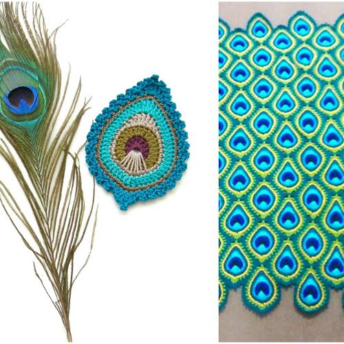 Here It Is My First Free Crochet Pattern The French Mini Peacock