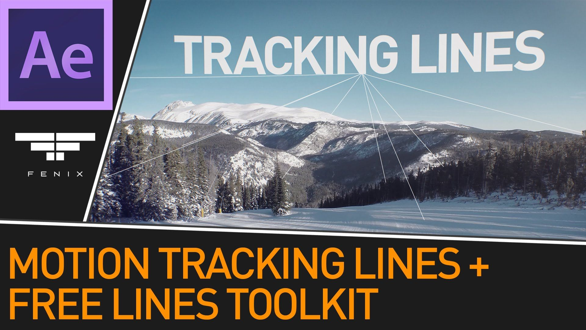 After Effects 3D Motion Tracked Lines Effect + Free Lines