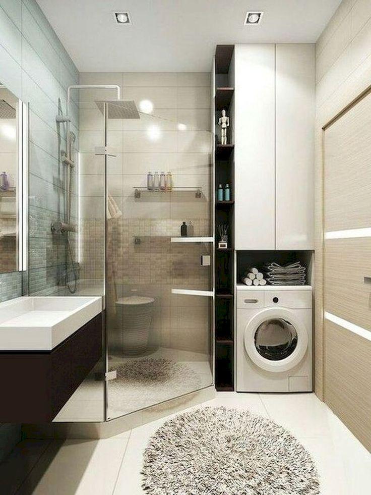 Badezimmer Klein Aufteilung Modern Bathroom Bathroom Interior House Bathroom