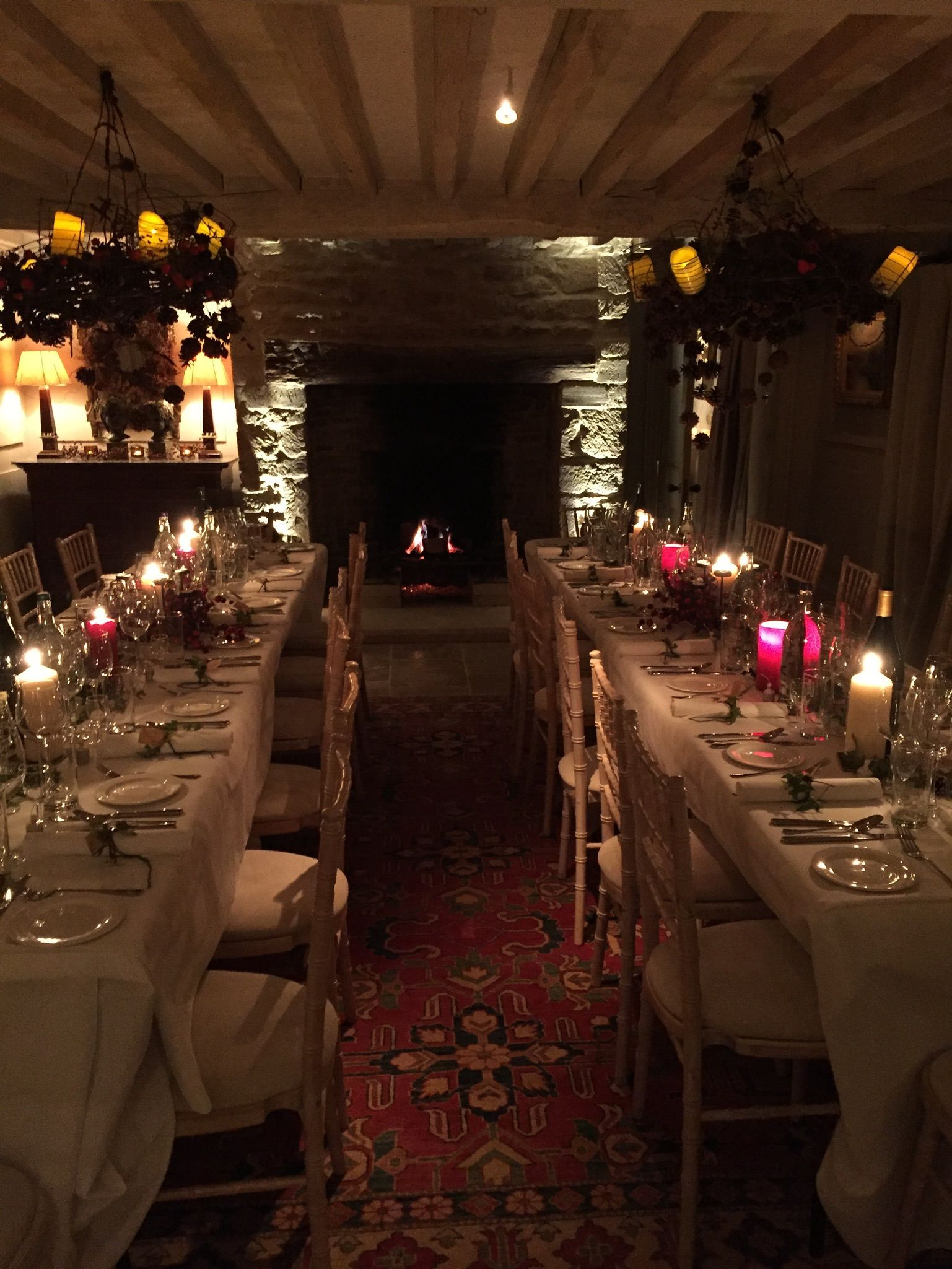All set for a New Years dinner Sutton house, Design, New