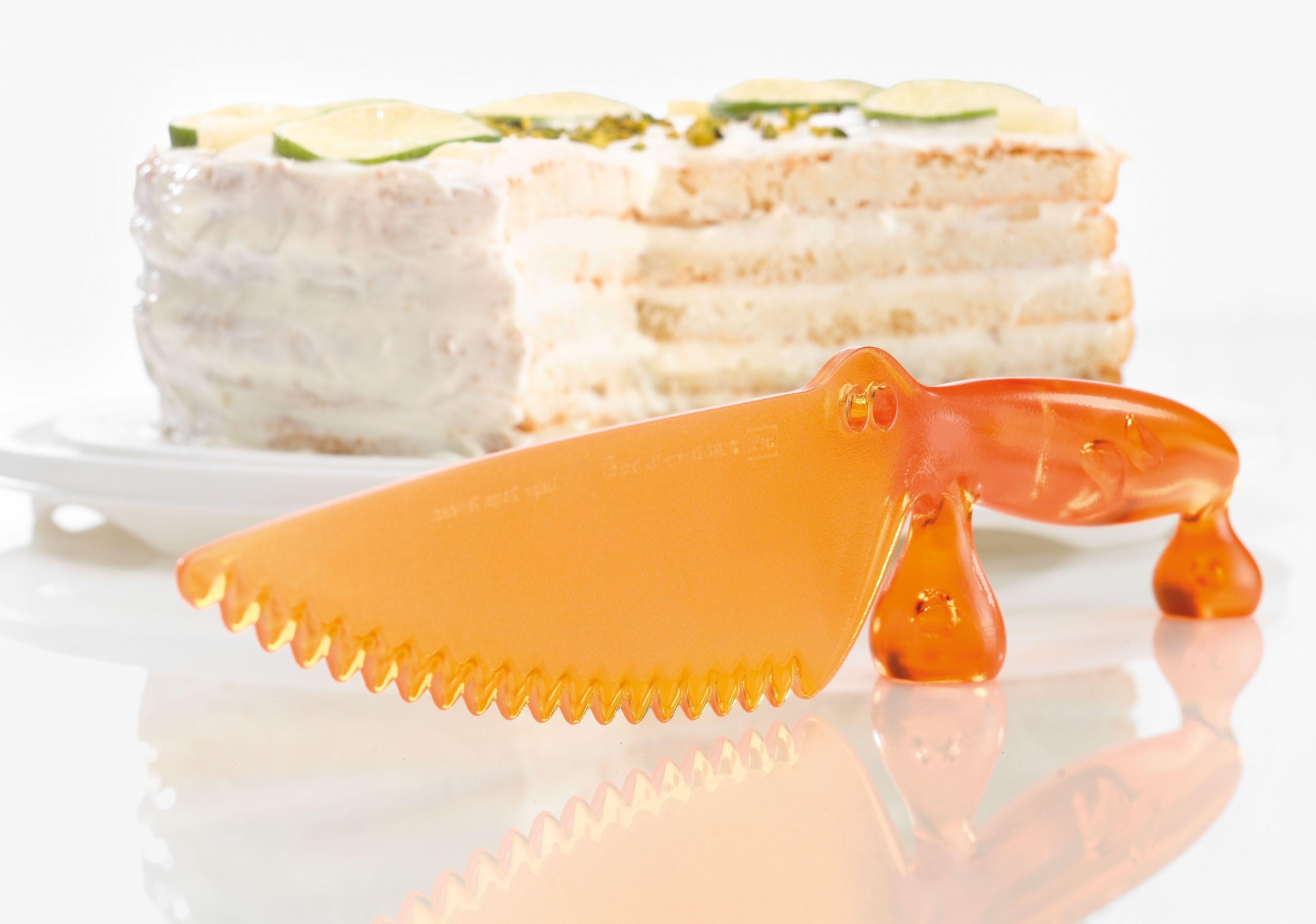 Koziol Gâteau Couteau Coco-plastique