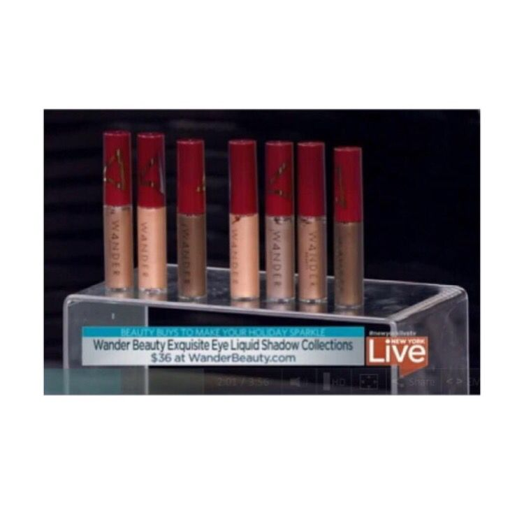 Make your holiday sparkle Our Exquisite Eye Liquid Shadows featured on @newyorklivetv ✨  http://www.nbcnewyork.com/on-air/as-seen-on/Best-Beauty-Buys-To-Make-Your-Holiday-Sparkle_New-York-362662071.html