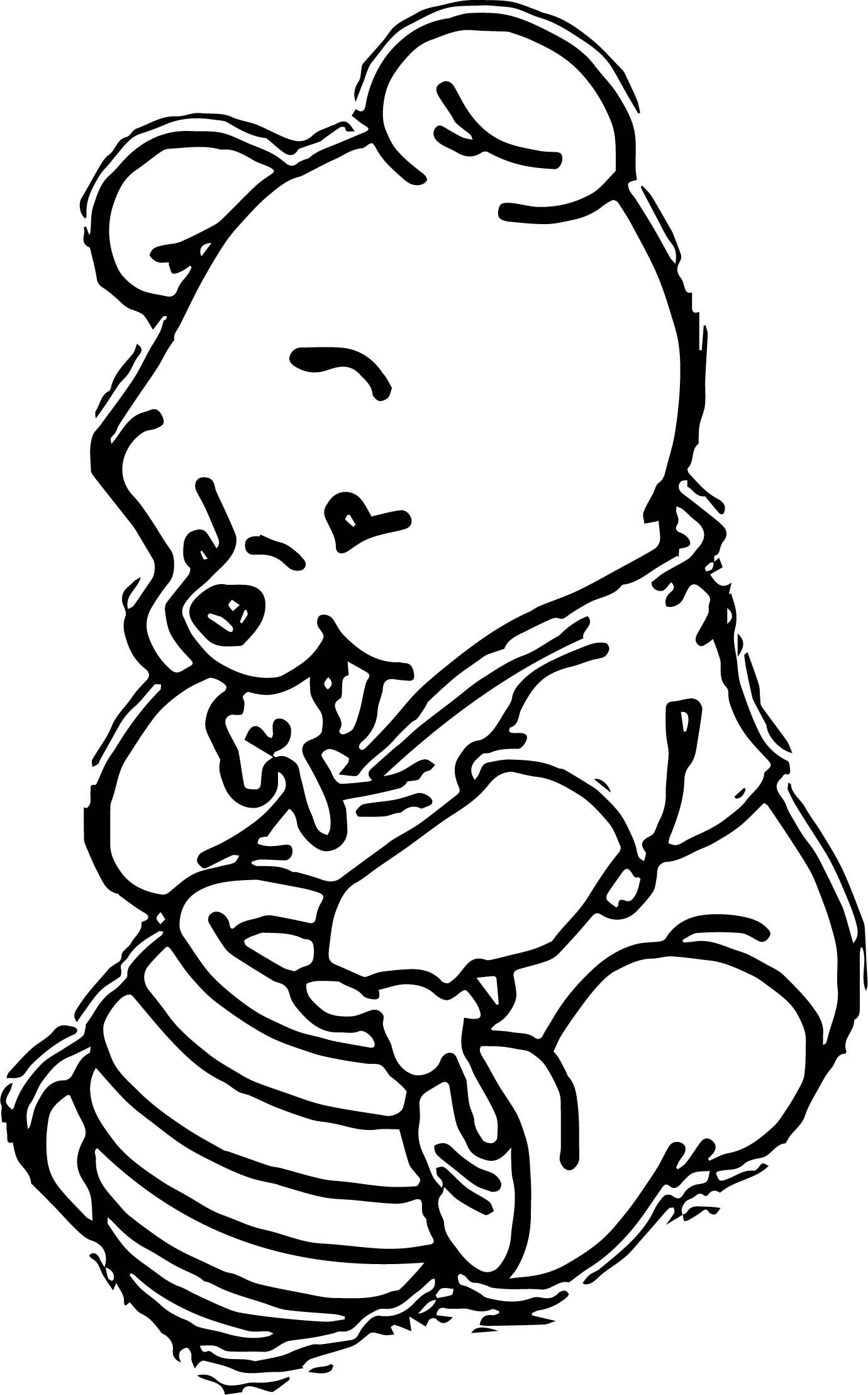 Cool Baby Winnnie Coloring Page Coloring Pages Coloring Pages