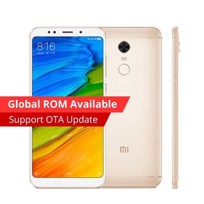 Original Xiaomi Redmi 5 Plus Mobile Phone 3GB RAM 32GB ROM