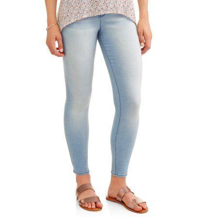 dark rinse /& medium rinse No Boundaries Juniors Classic Skinny Jeans black