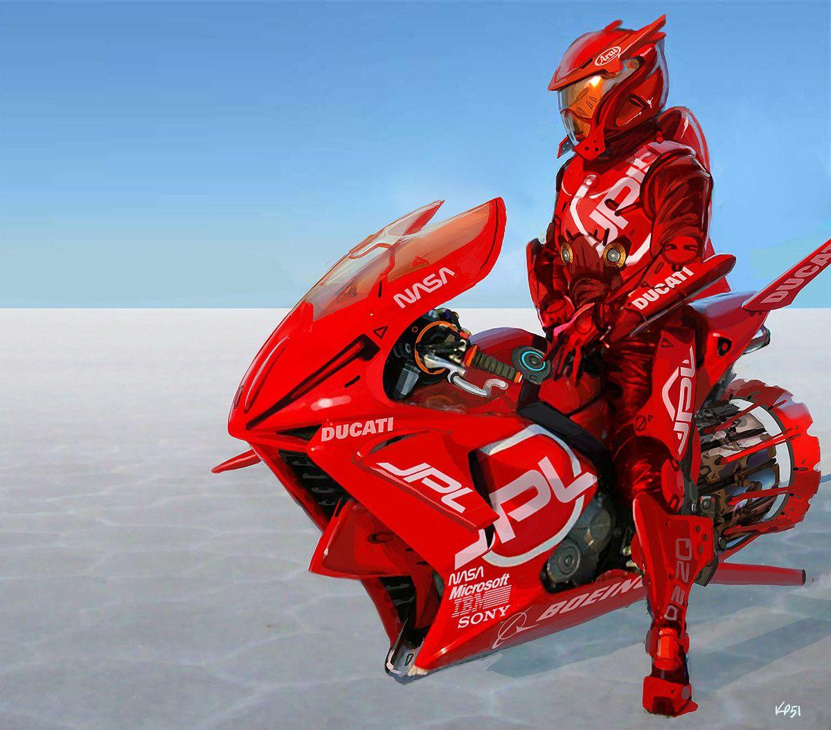 Moto 02, Kevin Prangley on ArtStation at https//www
