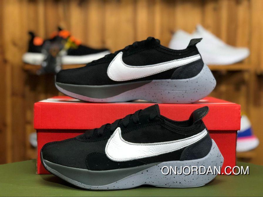 acbaa9230a3 Nike Moon Racer Vapor Street AQ4121-001 Mens Running Shoes Black White-Wolf  Grey Discount