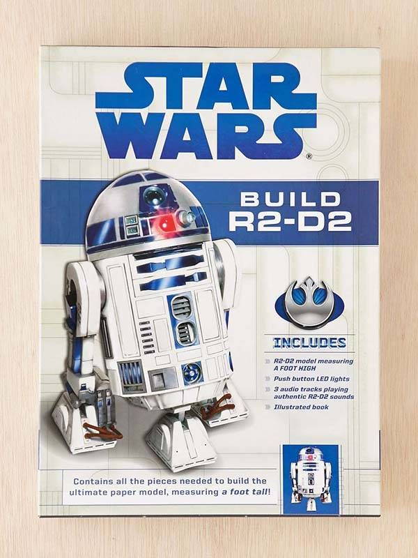 Star Wars R2-D2 Papercraft Model Kit | DIY | Star wars ...