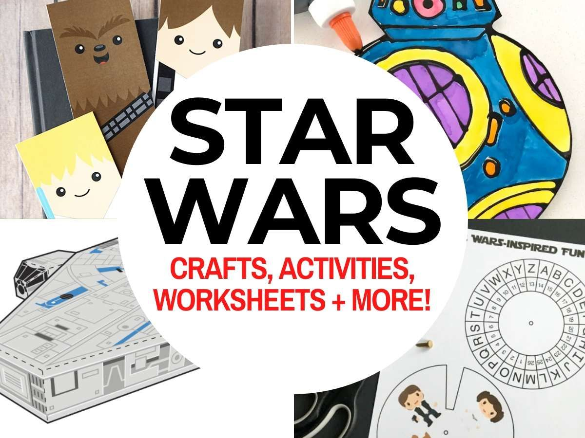 Top 50 Star Wars Crafts Amp Activities In