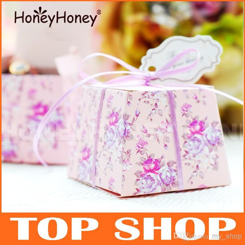 Diy Favor Holders Creative Style Polygon Wedding Favors Boxes