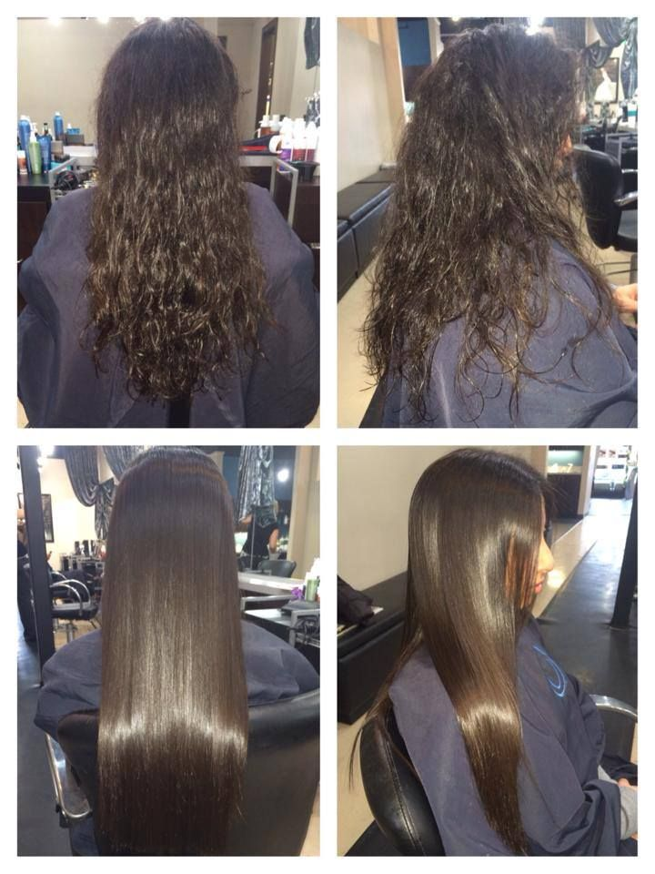 Keratin Treatment Before And After New Hairstyles Pinterest