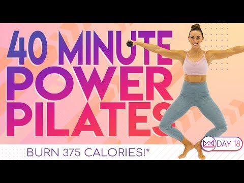 40 Minute Power Pilates Workout