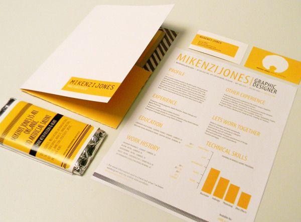 Self Promotion By Mikenzi Jones Via Behance Self Promotion Design Self Promotion Infographic Resume