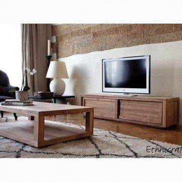 Ethnicraft Teak Duplex Coffee Table (With images ...