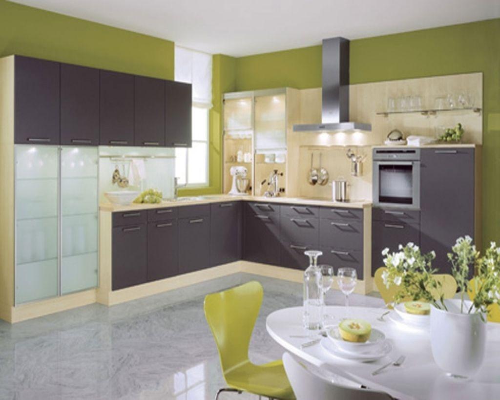 Inspirierende Moderne Küche Farbe Ideen Combo