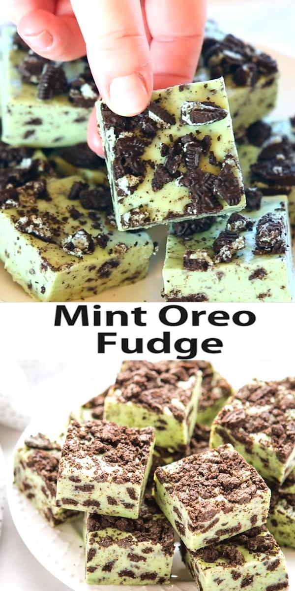Mint Oreo Fudge