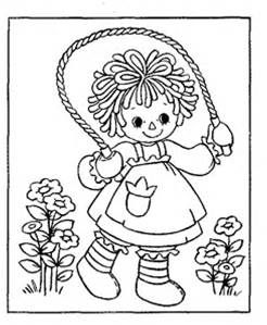 ragady ann Coloring Pages Bing images print vintage 60s 70s