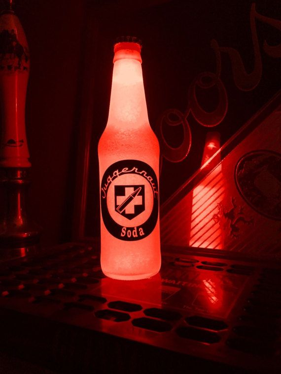 Call Of Duty Black Ops Juggernog Soda 12 Oz Beer Bottle
