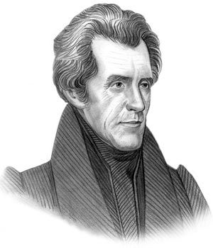 Interior Friends Of Andrew Jackson president andrew jackson was fractured so he turned to his trusted group of friends and made