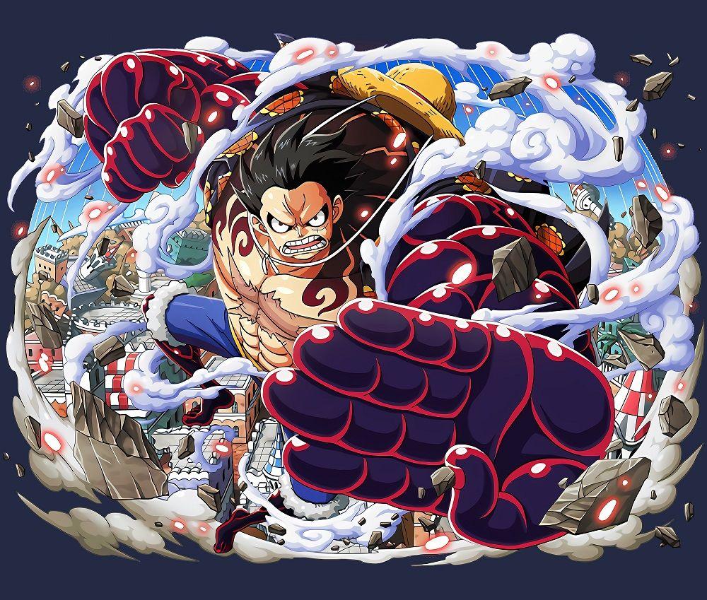 Luffy Gear 4 Boundman Luffy Gear 4 Luffy Gear 4 Snake Man Snake Man