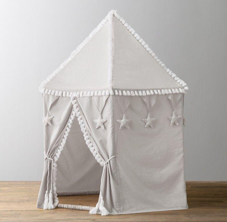 Star Cotton Voile Indoor Play Tent Mist Play Tent Indoor Play Kids Room Design Girls