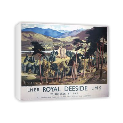 click to view Royal Deeside LNER LMS Braemar Castle