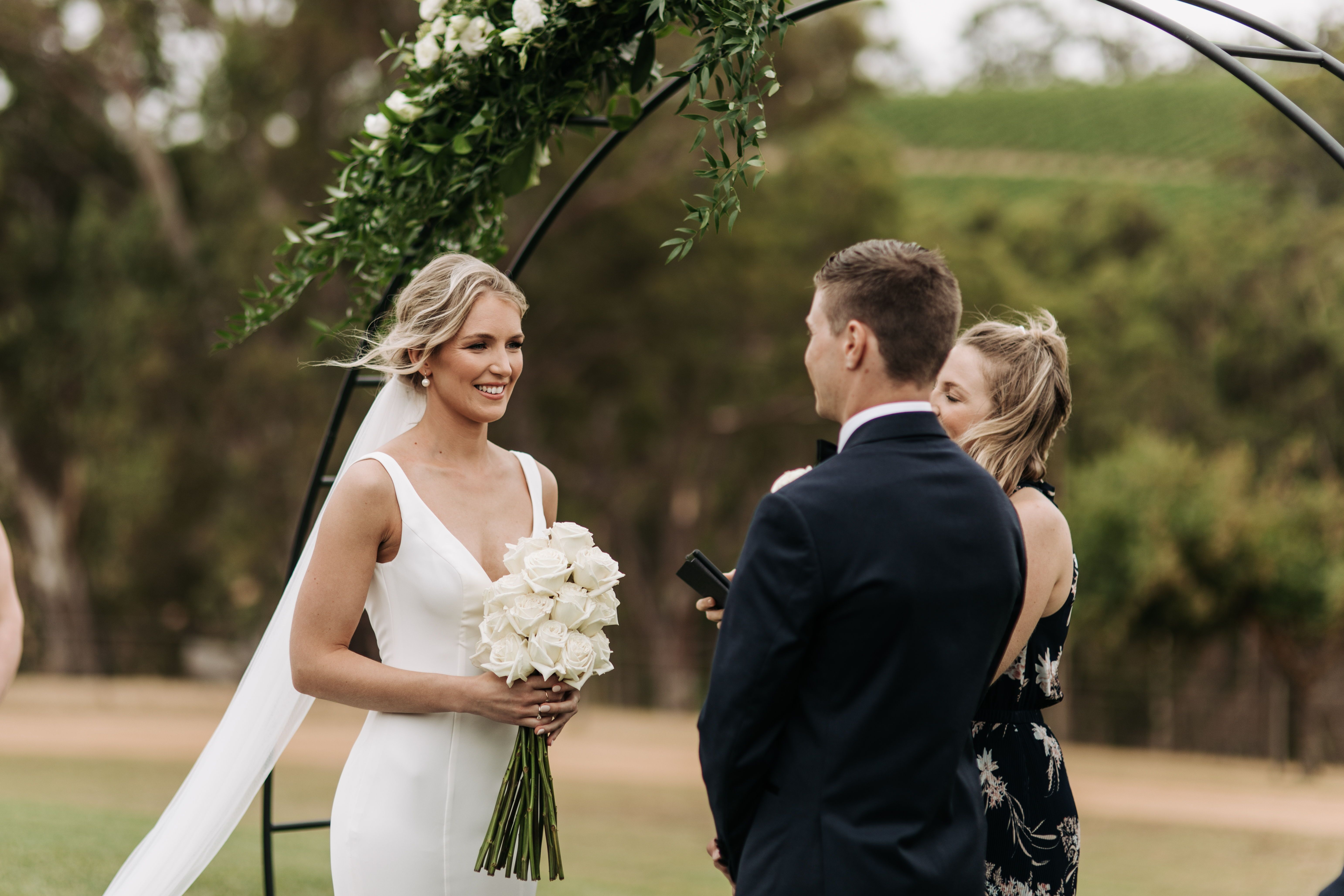 Beautiful Adelaide Hills Wedding In 2020 Bride Inspiration Wedding Modern Beautiful Bride