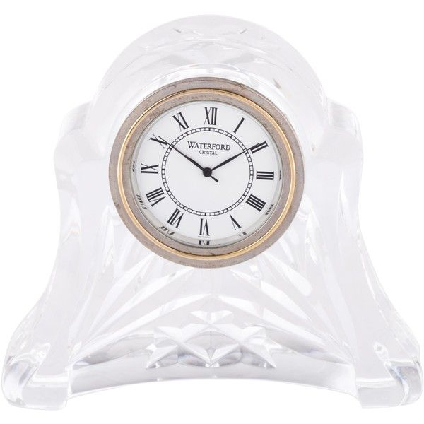 Pre Owned Waterford Crystal Desk Clock 95 Liked On Polyvore Featuring Home