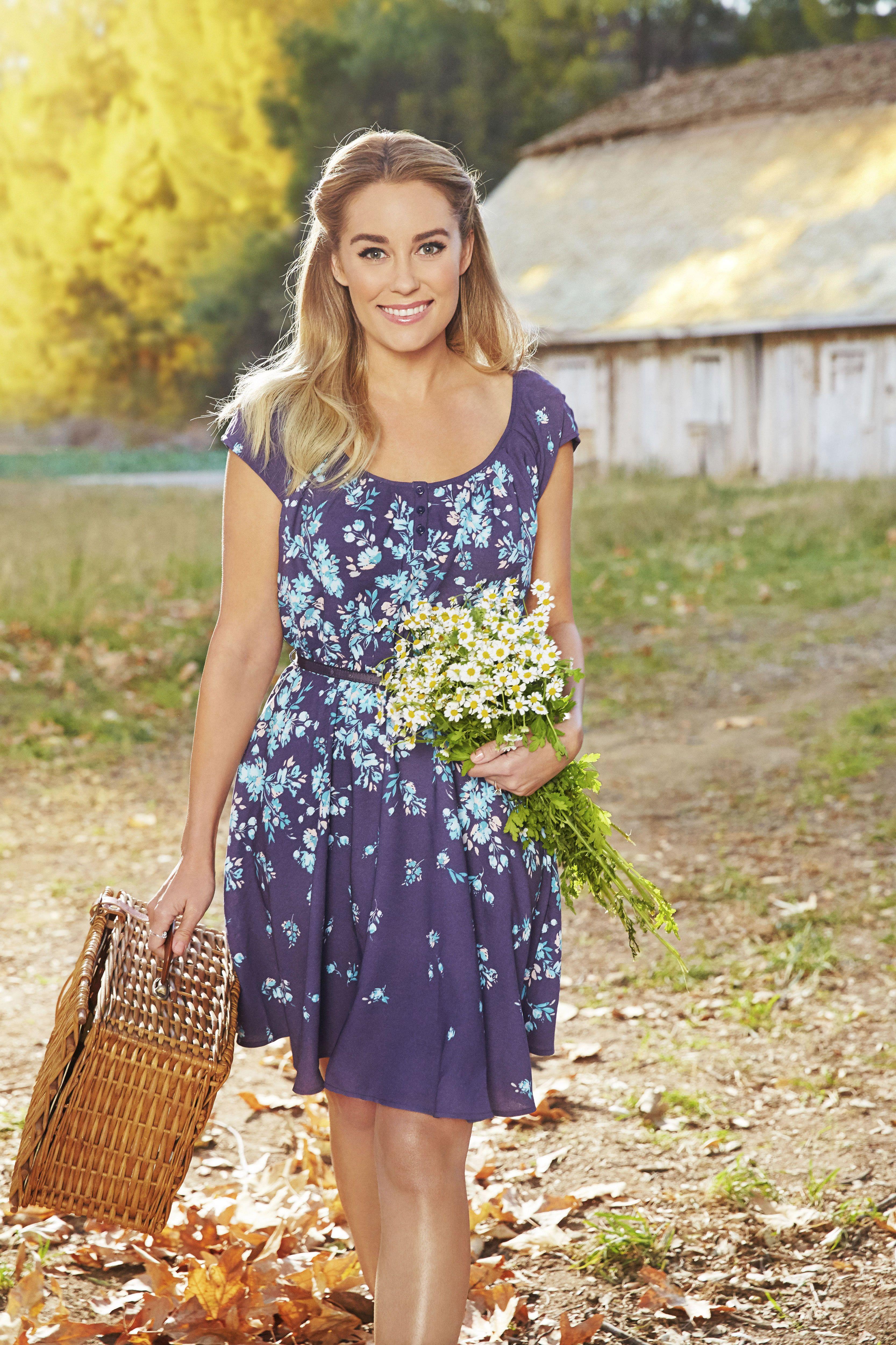 Country style yellow dress kohls lauren
